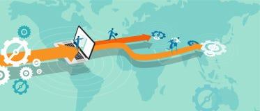 Geschäftsausweitung lagern aus Lizenzfreie Stockfotos