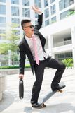 Geschäftsbalance stockfotografie