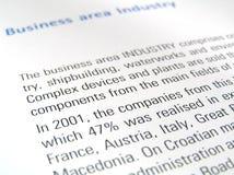 Geschäftsbereich Lizenzfreies Stockfoto