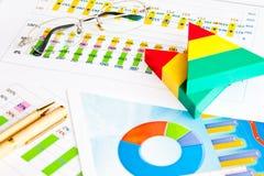 Geschäftsbericht lizenzfreies stockfoto
