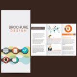 Geschäftsbroschüre Lizenzfreies Stockbild