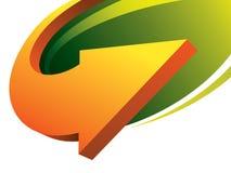 Geschäftsbroschüre-Abdeckung Schablone Stockfoto