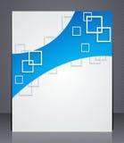 Geschäftsbroschüre. Planschablone Lizenzfreies Stockfoto