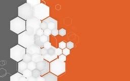 Geschäftsbroschürenabdeckungs-Designschablone Vektor Lizenzfreies Stockbild