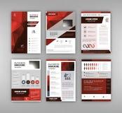 Geschäftsbroschürendesign Lizenzfreie Stockbilder