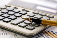 Geschäftsbuchhaltung Lizenzfreie Stockfotos