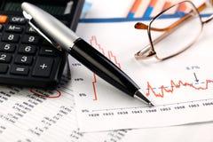 Geschäftsbuchhaltung Lizenzfreies Stockfoto