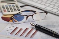 Geschäftsbuchhaltung Lizenzfreies Stockbild
