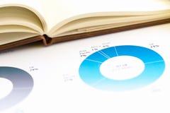 Geschäftscollage mit verschiedenen Einzelteilen Stockfoto