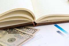 Geschäftscollage mit verschiedenen Einzelteilen Lizenzfreies Stockbild
