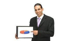Geschäftsdarstellung lizenzfreie stockfotos