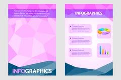 Geschäftsdarstellung broucher Design Lizenzfreies Stockbild