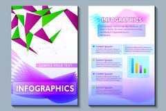 Geschäftsdarstellung broucher Design Lizenzfreie Stockfotografie