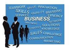 Geschäftsdarstellung für Dias Lizenzfreie Stockfotos
