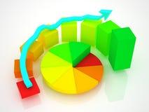 Geschäftsdiagramm Lizenzfreie Stockbilder