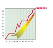 Geschäftsdiagramm Stockfotografie