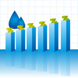 Geschäftsdiagramm Lizenzfreie Stockfotos