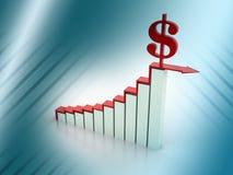 Geschäftsdiagramm Lizenzfreies Stockfoto