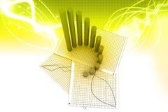 Geschäftsdiagramm Stockbilder