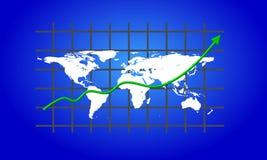 Geschäftsdiagramm Lizenzfreie Stockfotografie