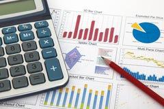 Geschäftsdiagramm, das Erfolg zeigt Stockfotografie