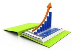 Geschäftsdiagramm im Diagramm Stockfotografie