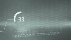 Geschäftsdiagramm-Wirtschaftsbericht stock video footage