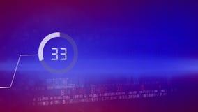 Geschäftsdiagramm-Wirtschaftsbericht stock video