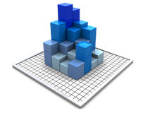 Geschäftsdiagramme Stockfoto