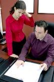 Geschäftsdiskussion Lizenzfreies Stockfoto