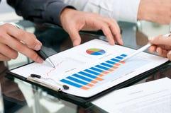 Geschäftsdokumente Stockfotos