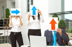Geschäftsentscheidung lizenzfreies stockfoto