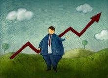 Geschäftserfolg stock abbildung