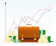 Geschäftserfolg-Hintergrund Lizenzfreie Stockfotografie