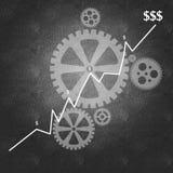 Geschäftserfolg und der Managementprozeß Lizenzfreies Stockbild