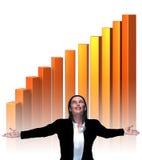 Geschäftserfolg- virtuell Lizenzfreie Stockbilder