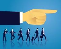 GeschäftserfolgRichtungs-Konzept vorwärts bewegend Lizenzfreies Stockbild