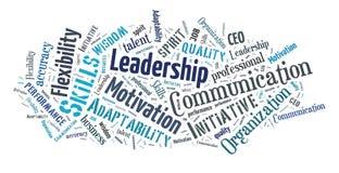 Geschäftsfähigkeits-Wortwolke stockfoto