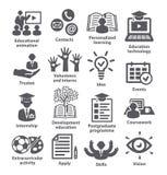 Geschäftsführungs-Ikonen Satz 35 Lizenzfreie Stockfotografie