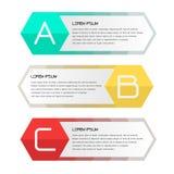 Geschäftsfahne für Webdesign, kreativ für Website, Vektor t stock abbildung