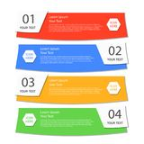 Geschäftsfahne für Webdesign, kreativ für Website vektor abbildung