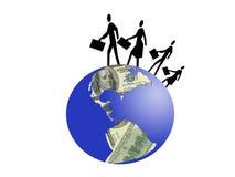 Geschäftsfamilie Lizenzfreie Stockfotos