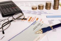 Geschäftsfinanzen Lizenzfreies Stockfoto