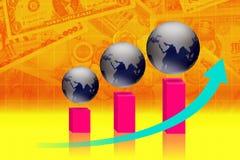 Geschäftsfinanzierung lizenzfreies stockbild