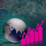 Geschäftsfinanzierung lizenzfreie abbildung