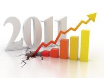 Geschäftsfinanzwachstumkonzept Lizenzfreie Stockfotos