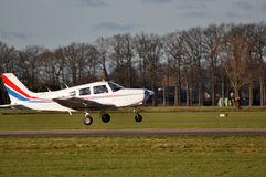 Geschäftsflug in Pipercup Lizenzfreie Stockfotos
