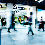 Geschäftsfluggastweg Lizenzfreie Stockfotografie