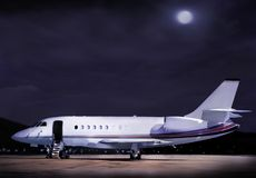 Geschäftsflugzeug Lizenzfreies Stockbild