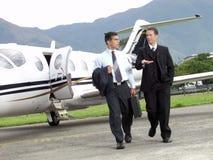 Geschäftsflugzeug. Lizenzfreies Stockfoto